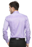 DOUBLE BARREL PURPLE HOUNDSTOOTH SHIRT