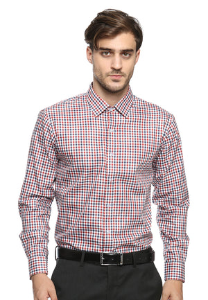 DOUBLE BARREL RED AND BLUE CHECKERED SHIRT