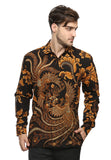 LONG SLEEVE BROWN BIRD DOBY BATIK