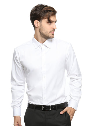 DOUBLE BARREL WHITE SHIRT