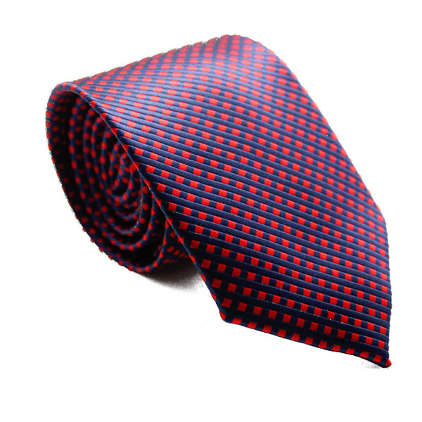 SMALL CHECKERED RED AND BLUE
