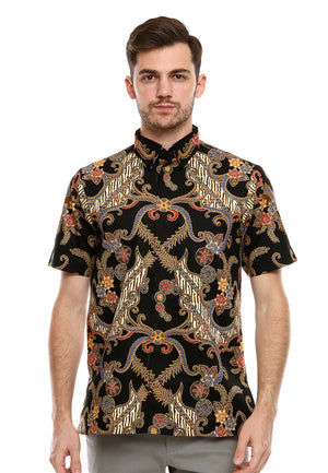 BATIK KATUN SILK BLACK