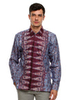 BATIK LONG SLEEVE PUCUK REBUNG PURPLE
