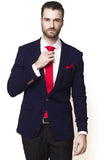 BLAZER BLUE RED WHITE STRIPE