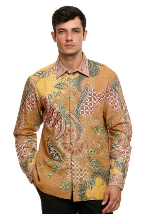 BATIK GOLDEN THREAD BIRD GOLD