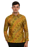 BATIK LONG SLEEVE YELLOW GOLD
