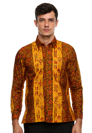 BATIK LONG SLEEVE ORANGE