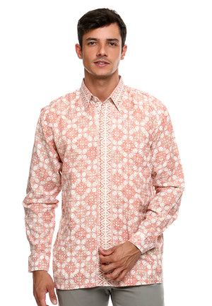 BATIK LONG SLEEVE KAWUNG SALEM