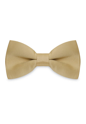 GOLD SATIN SILK BOWTIE