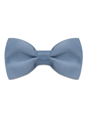 AQUAMARINE SATIN SILK BOWTIE