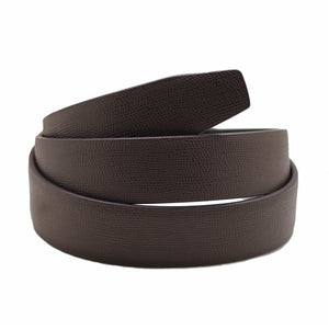 Dark Brown Croco Pattern Belt 2
