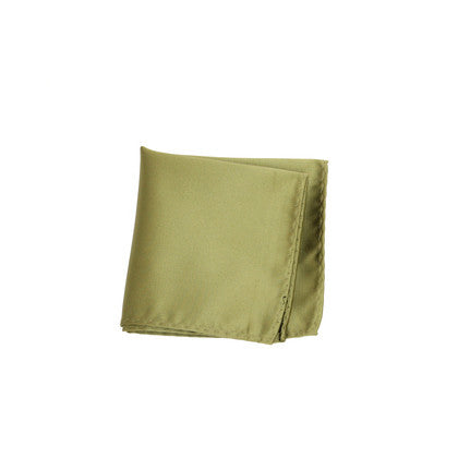 COLOR LIGHT GREEN POCKET SQUARE