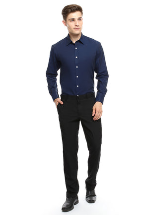 DOUBLE BARREL BLUE NAVY SHIRT