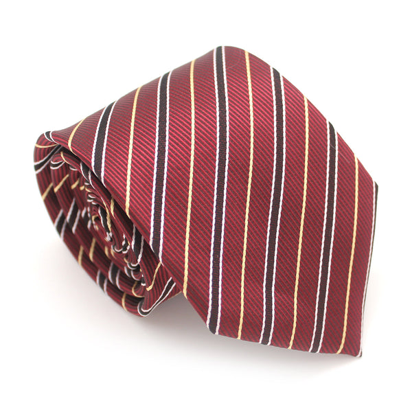 PATTERN REGULAR NECKTIE RED AXEL