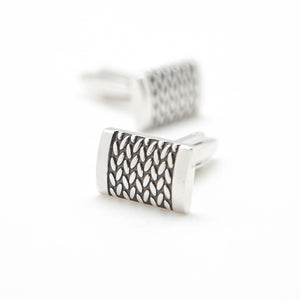 CLASSIC BRAID CUFFLINKS