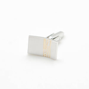 GOLD STRIPE CLASSIC CUFFLINKS