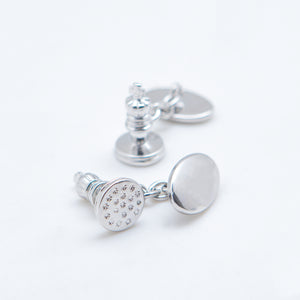CHESS KING CUFFLINKS