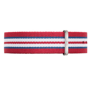 CLASSIC EXETER SILVER NATO STRAP