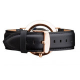 CLASSIC SHEFFIELD ROSE GOLD LEATHER STRAP