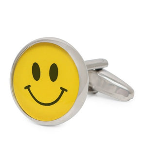 SMILE EMOTICON CUFFLINKS