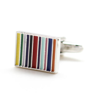 Color Stripes Cufflinks