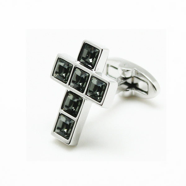 SWAROVSKI CROSS GREY