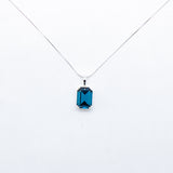 SWAROVSKI BIG RECTANGLE MONTANA NECKLACE
