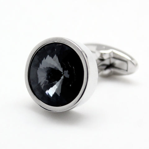 SWAROVSKI ROUND CRYSTAL SILVER NIGHT