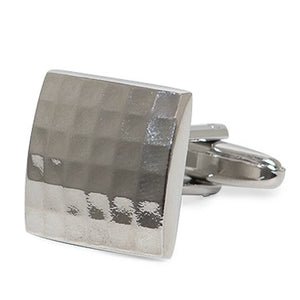 CLASSIC SQUARE TEXTURED CUFFLINKS