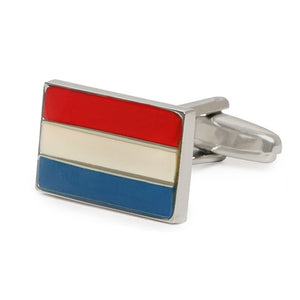 NETHERLANDS FLAG CUFFLINKS