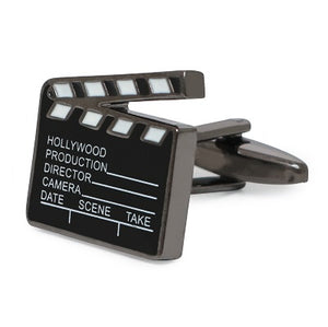 CLAPPERBOARD FILM CUFFLINKS