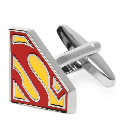 SUPERMAN RED CUFFLINKS