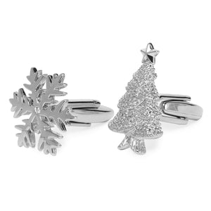 CHRISTMAST TREE CUFFLINKS