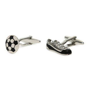 SHOES AND BALL CUFFLINKS