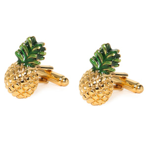 PINEAPPLE CUFFLINKS