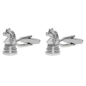 HORSE CHESS CUFFLINKS