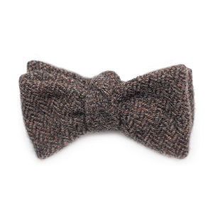 UNTIED DARK BROWN WOOL