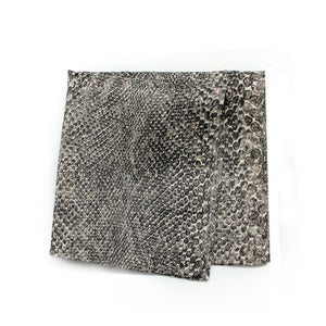 SNAKE POCKET SQUARE