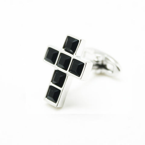 SWAROVSKI CROSS BLACK