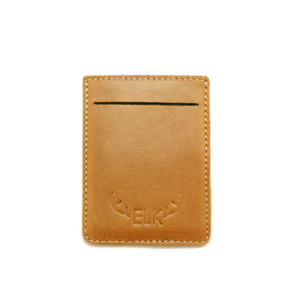 CAMPBELL CARD HOLDER TAN
