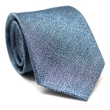 PAISLEY DARK BLUE & LIGHT BLUE SKINNY TIE