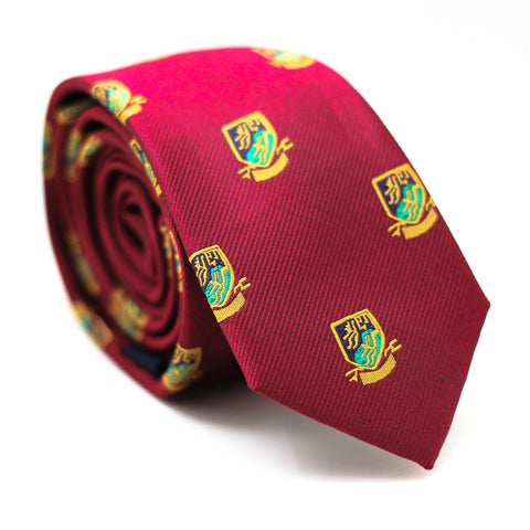 PREPPY RED REGULAR TIE