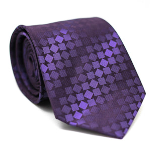 PAISLEY PURPLE REGULAR TIE