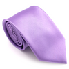 REGULAR SILK COLOR TIE PURPLE