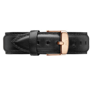 CLASSIC SHEFFIELD ROSE GOLD LEATHER STRAP LADY