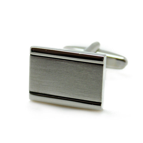 CLASSIC CUFFLINKS WITH STRIPES