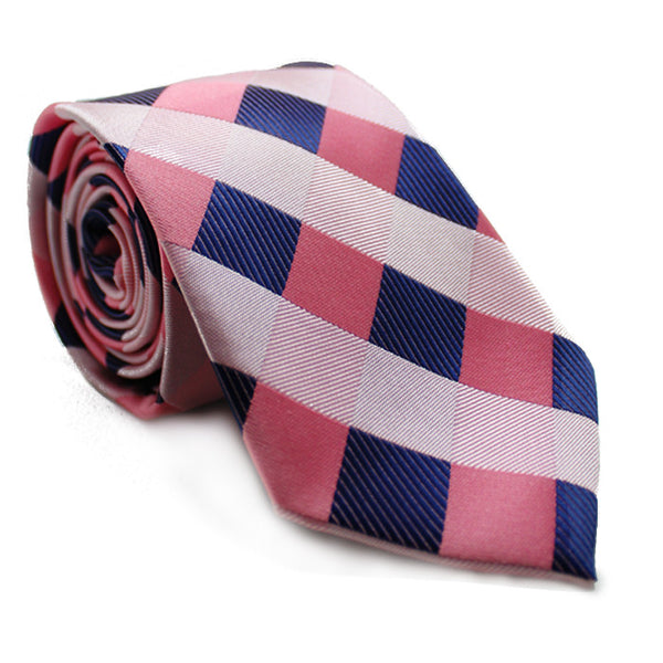 WINDOW PANE PINK TIE