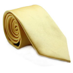 LIGHT YELLOW SOLID TIE
