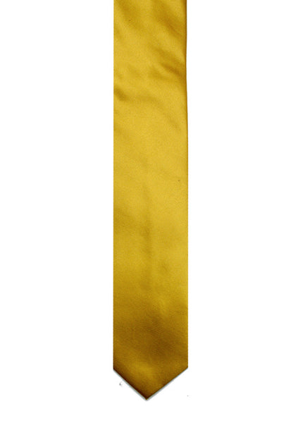 DARK GOLD SOLID TIE
