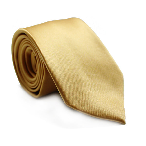 LIGHT GOLD SOLID TIE